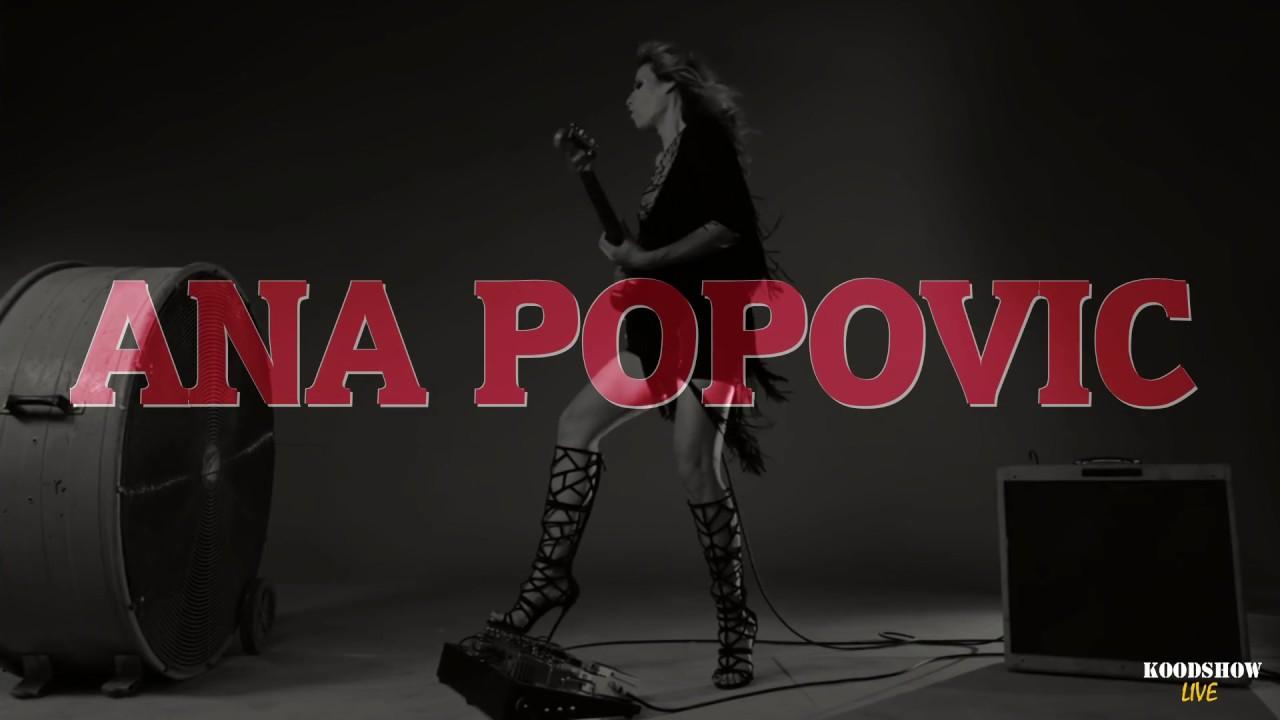 ana popovic  concert  koodshow Live