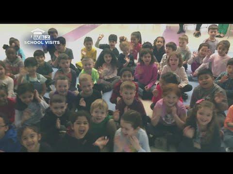 WBZ-TV Meteorologist Sarah Wroblewski Visits Fitzgerald Elementary School