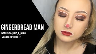 DO YOU KNOW THE GINGERBREAD MAN [Christmas Makeup Tutorial]