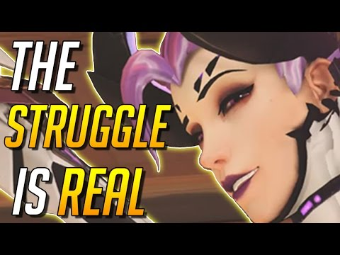 [Overwatch] ~ Angry Toxic Player Blames the Mercy Main