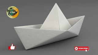 How to Make a Paper Boat origami || Step by Step Tutorial