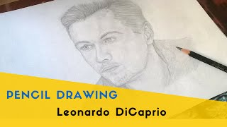 Speed Pencil Drawing  | Leonardo DiCaprio