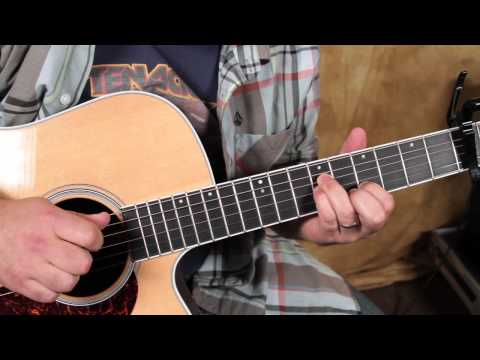 Pink Floyd - Hey You - How to Play First Part on Acoustic Guitar Lesson - Fingerpicking acoustic