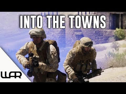 INTO THE TOWNS - MILSIM (Arma 3) - 43rd Marine Expeditionary Unit - Episode 6