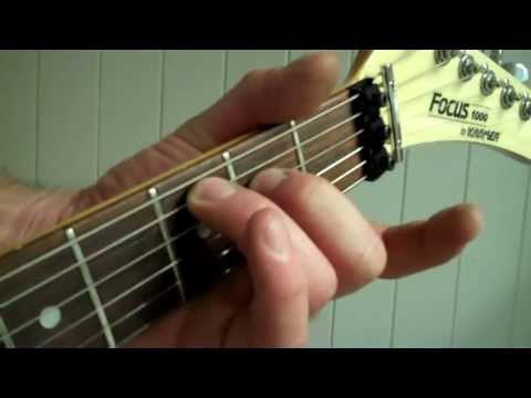 Easy Chords Part 1 - Easy A B C D Chord Positions