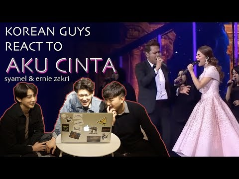 Korean Guys React to Aku CInta by Syamel & Ernie Zakri