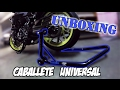 CABALLETE UNIVERSAL para MOTO | UNBOXING