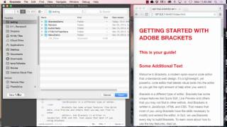 Adobe Brackets Overview and Tutorial