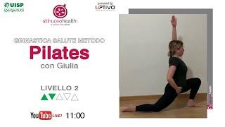 Ginnastica Salute Metodo Pilates - Livello 2 - 8 (Live)