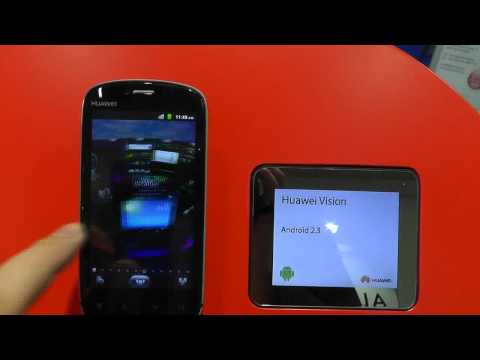 HUAWEI Vision - live on IFA 2011 Hands on