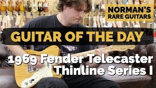 Guitar of the Day: 1969 Fender Telecaster Thinline Series I | Norman's Rare Guitars