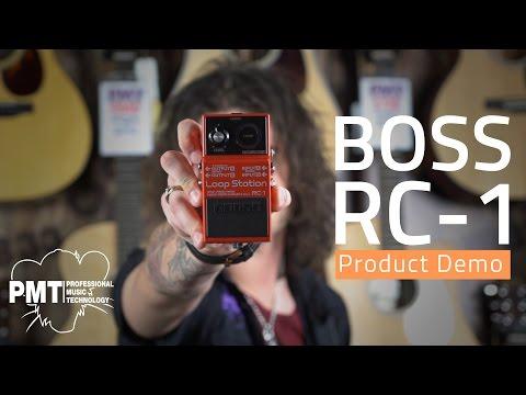 Boss RC-1 Loop Station Pedal Demo