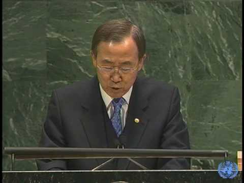 """Hunger is a stain on humanity""  (Ban Ki-moon, SG of the United Nations)"