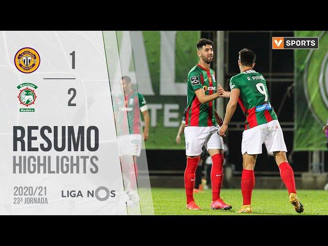 Highlights | Resumo: CD Nacional 1-2 Marítimo (Liga 20/21 #23)