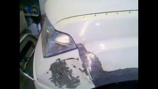 Nissan Navara, рихтовка закончена