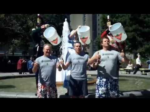 C&W Toronto Central Office Leasing ALS Ice Bucket Challenge