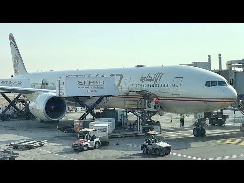 TRIP REPORT- Etihad Airways (Economy) B777-300- Abu Dhabi to Manchester