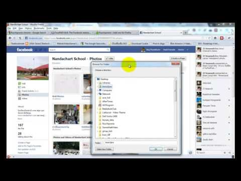 How to Download All Picture in Facebook Album with Firefox Fluschipranie  Addon