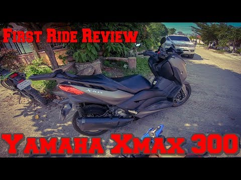 the-yamaha-xmax-300-|-first-test-ride-review!