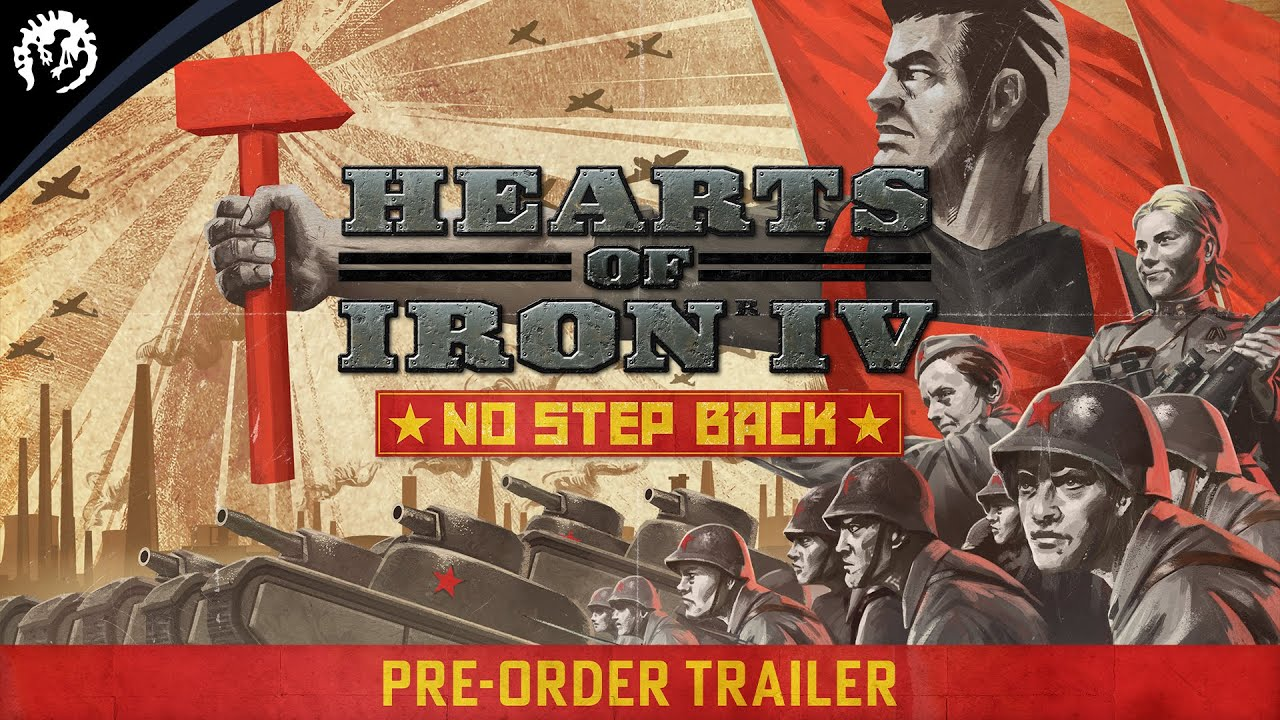 Hearts of Iron IV: No Step Back   Pre-Order Trailer