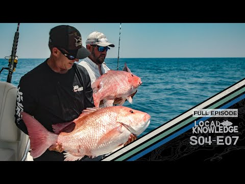 South Carolina Bottom Fishing Groupers And Giant Red Snappers  - S04 E07 Ohh Carolina