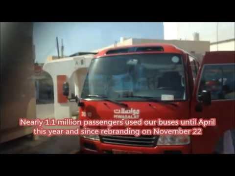 Oman Muscat's growing bus network