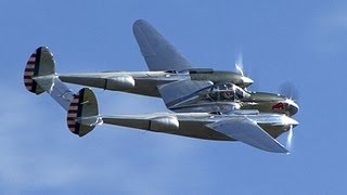 "Lockheed P-38 Lightning ""fork-tailed devil"""