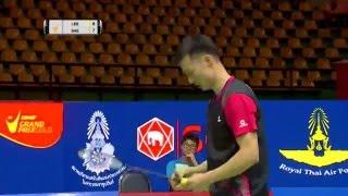 Princess Sirivannavari Thailand Masters 2016 | Badminton SF M3-MS | Lee Hyun Il vs T. Saensomboonsuk