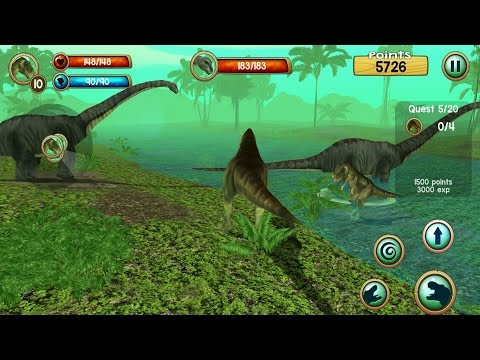 Tyrannosaurus Rex Sim 3D Android Gameplay