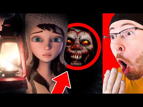 THE MOST SCARY ANIMATIONS (DO NOT WATCH AT NIGHT)