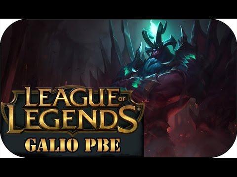 Galio Champion Spotlight | Gameplay - League of Legends ...