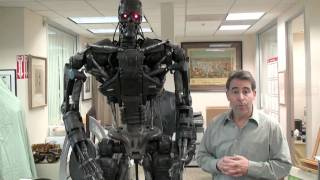 Auction interview Joe Maddalena from Hollywood Treasure on Terminator 4 T600