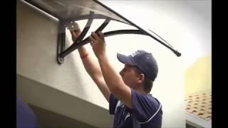 Altamonet Door and Window Canopy Instructional