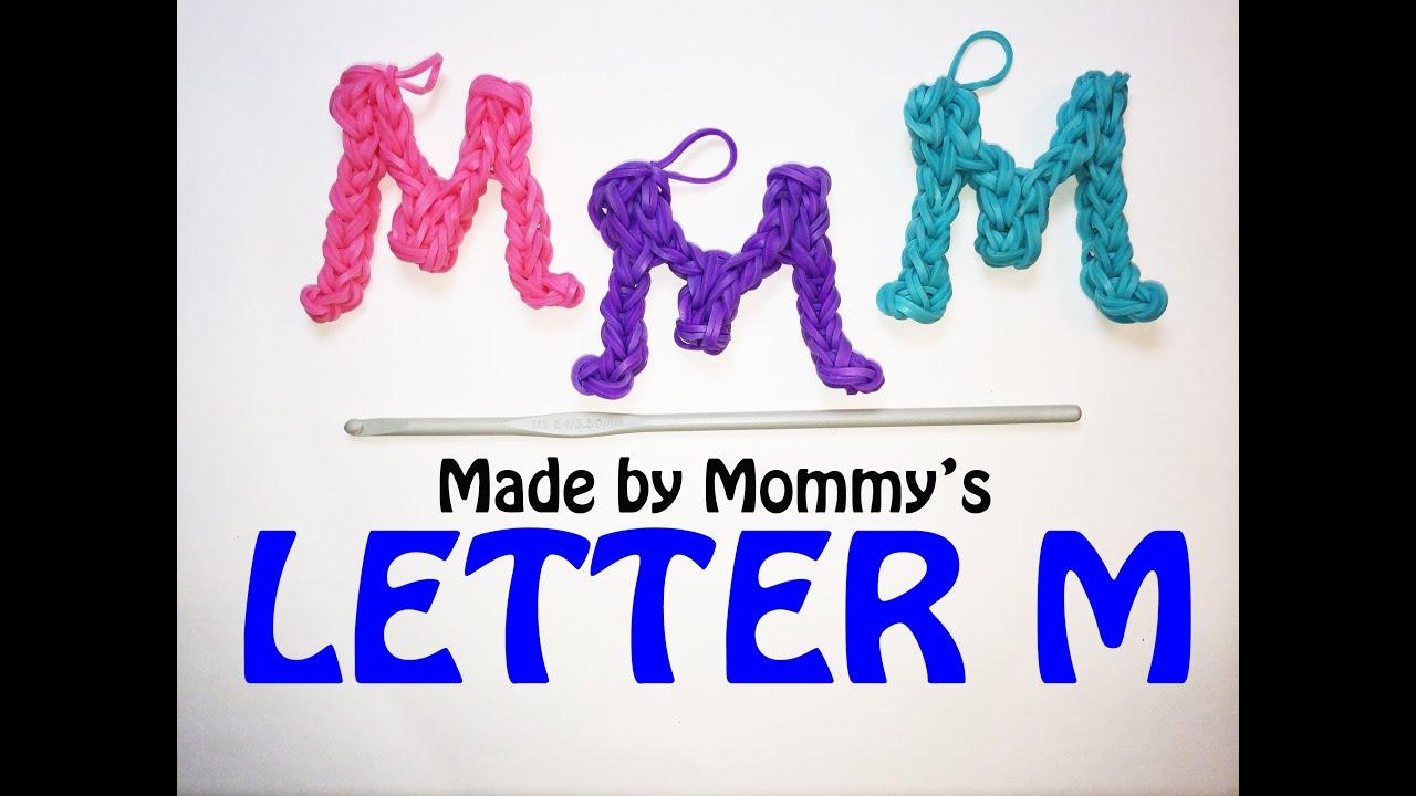 Rainbow Loom Letter