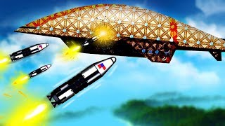 New Aerial Torpedoes Completely Destroy a Massive Airship in Forts!