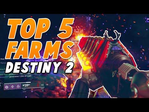 Top 5 Craziest Farms in Destiny 2! Infinite Enemies for Catalysts, Quests & Orbs (Best Loot Caves)