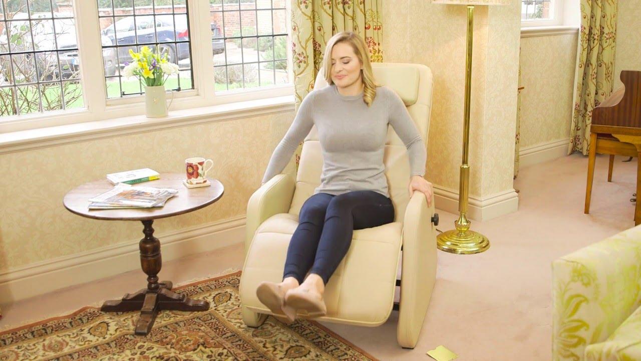 Stress Away Leather Zero Gravity Recliner Chair