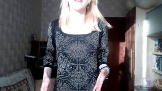 видео С чем носить платье со стразами?