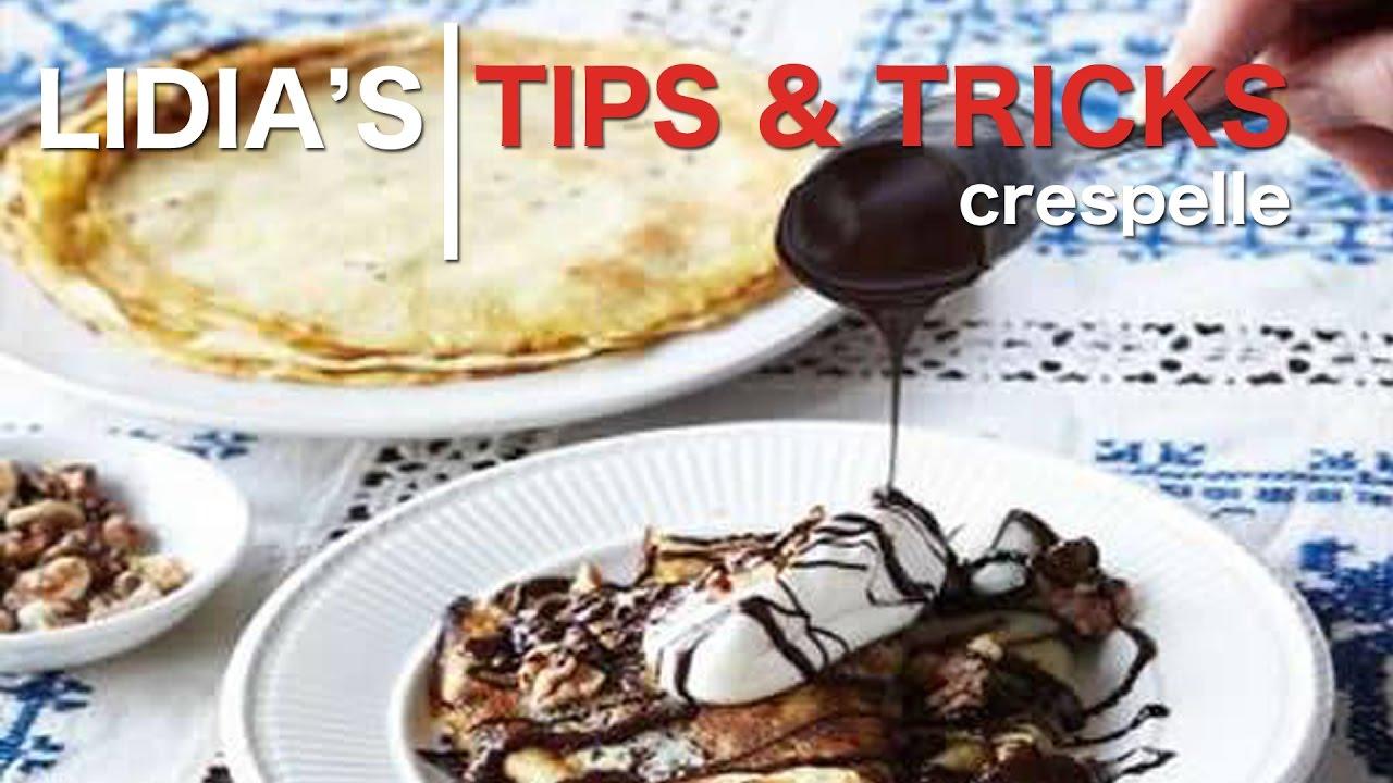 aspetto dettagliato genuino selezione premium Tips, Tricks and More: Crespelle