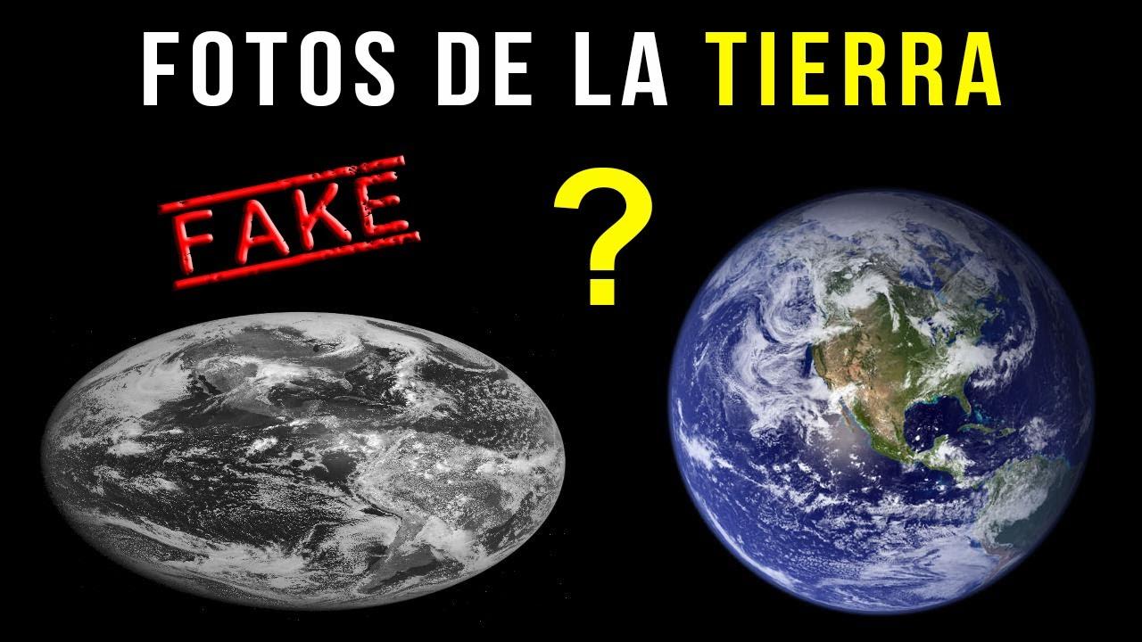 Las fotos de la Tierra desde el espacio NO SON REALES  YouTube