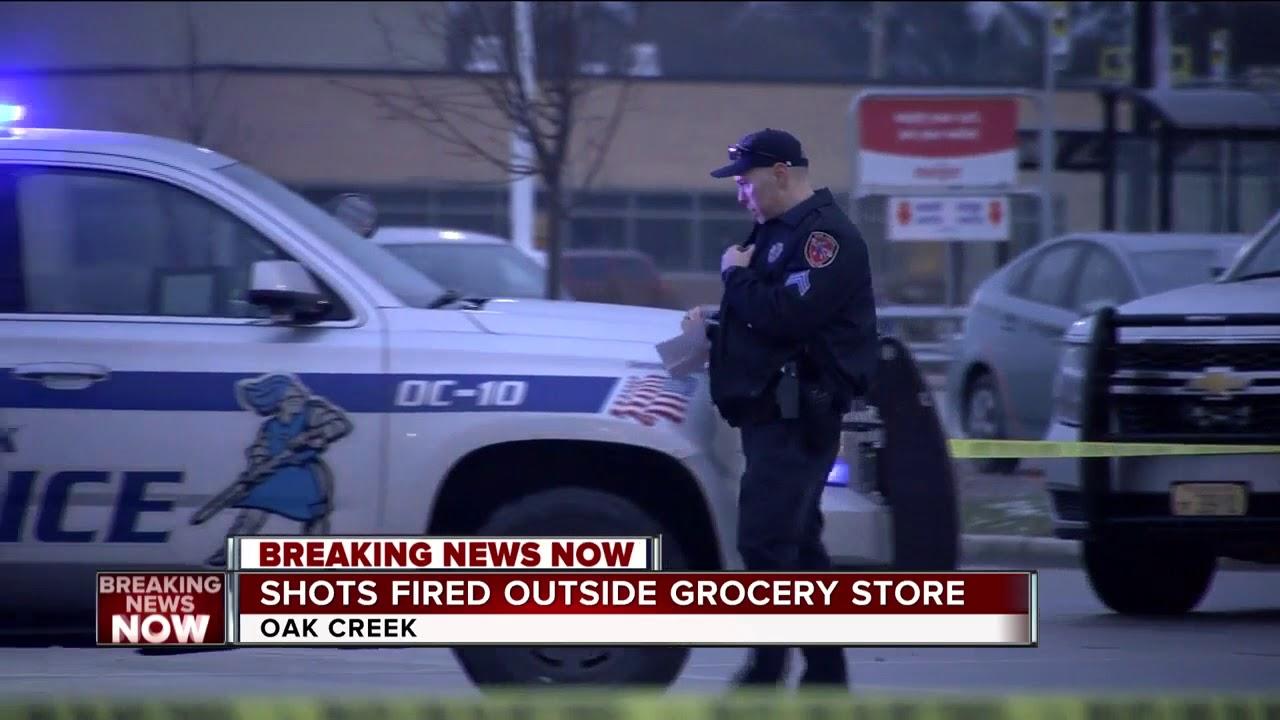 7fcd71cd Shots fired reported outside Oak Creek Meijer. TODAY'S TMJ4