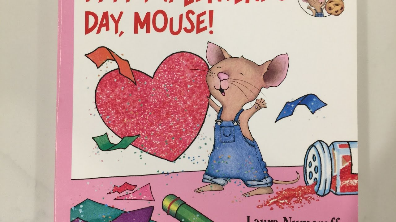 happy valentine u0027s day mouse kids and toddler books read aloud