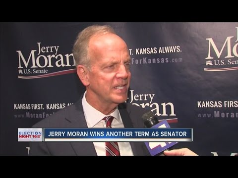 Jerry Moran wins another term as senator