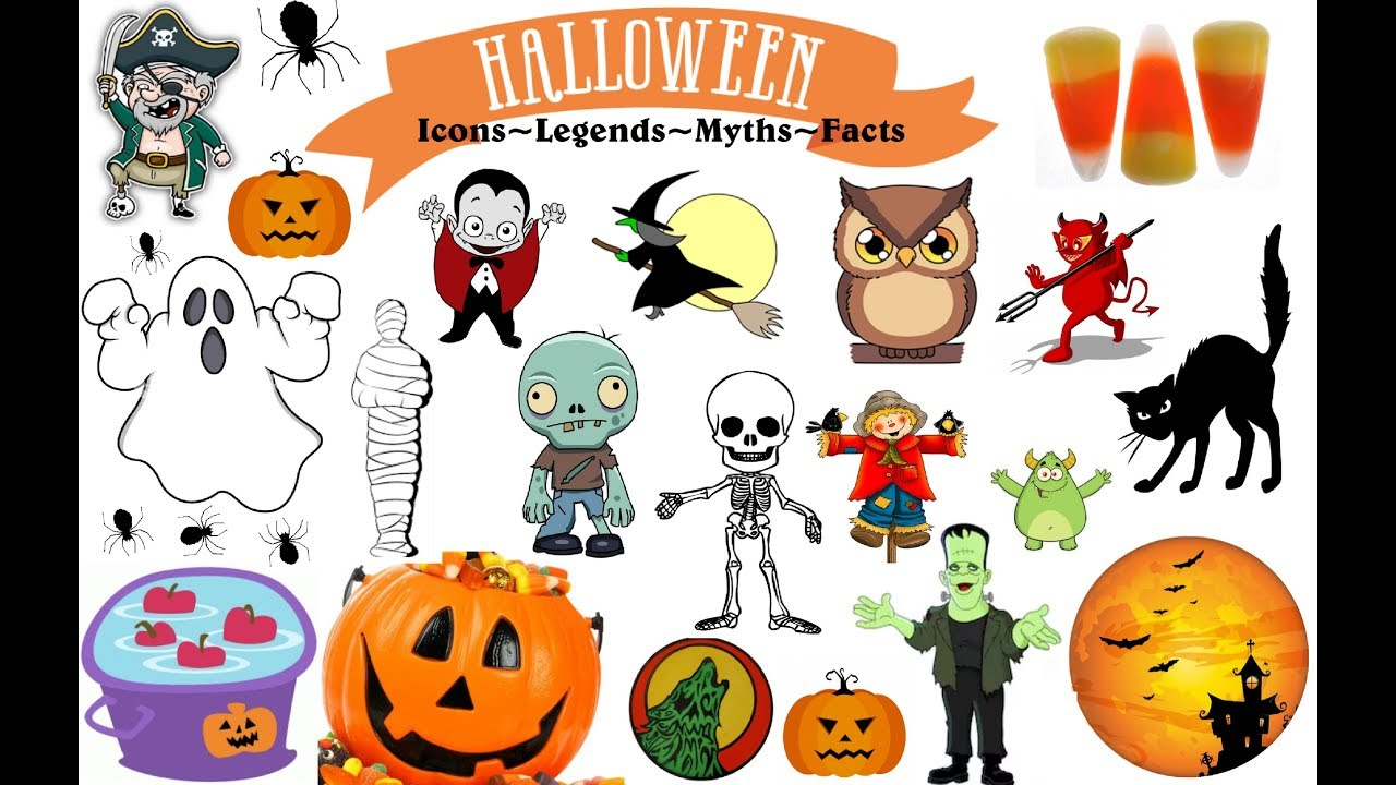 🎃spooky halloween facts, icons, myths + legends!🎃 - youtube