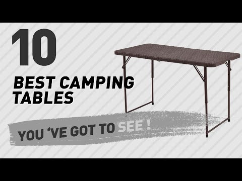 Folds In Half Camping Tables Collection // New & Popular 2017