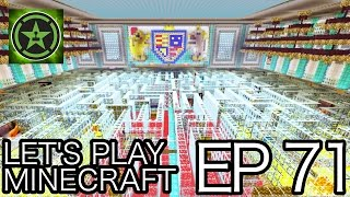 let s play minecraft episode 71 maze in buckingham palace