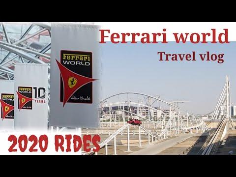 FERRARI WORLD ABUDHABI/ Rides and attractions 2020 Part 1