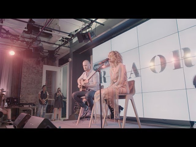 Rita Ora | Your Song at YouTube Space NYC