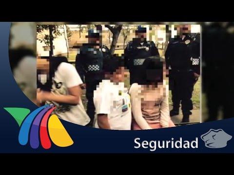 Detienen a 3 niños por presunto asalto en Tlatelolco | Noticias