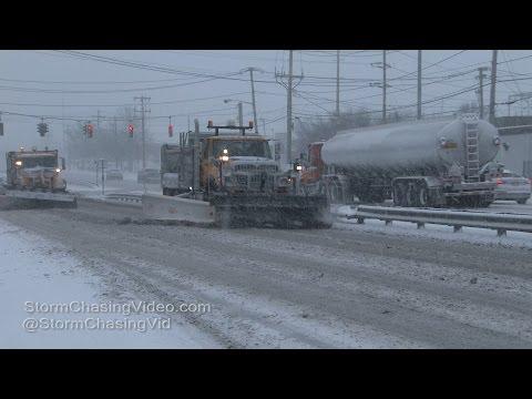 Nassau County - Long Island Evening Heavy Snow - 1/7/2017